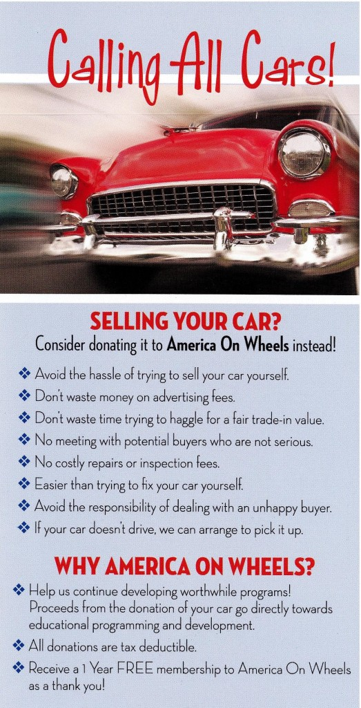 Donate a Car - Antique Auto Museum | Allentown PA | America On Wheels