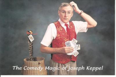 The Comedy Magic of Joseph Keppel