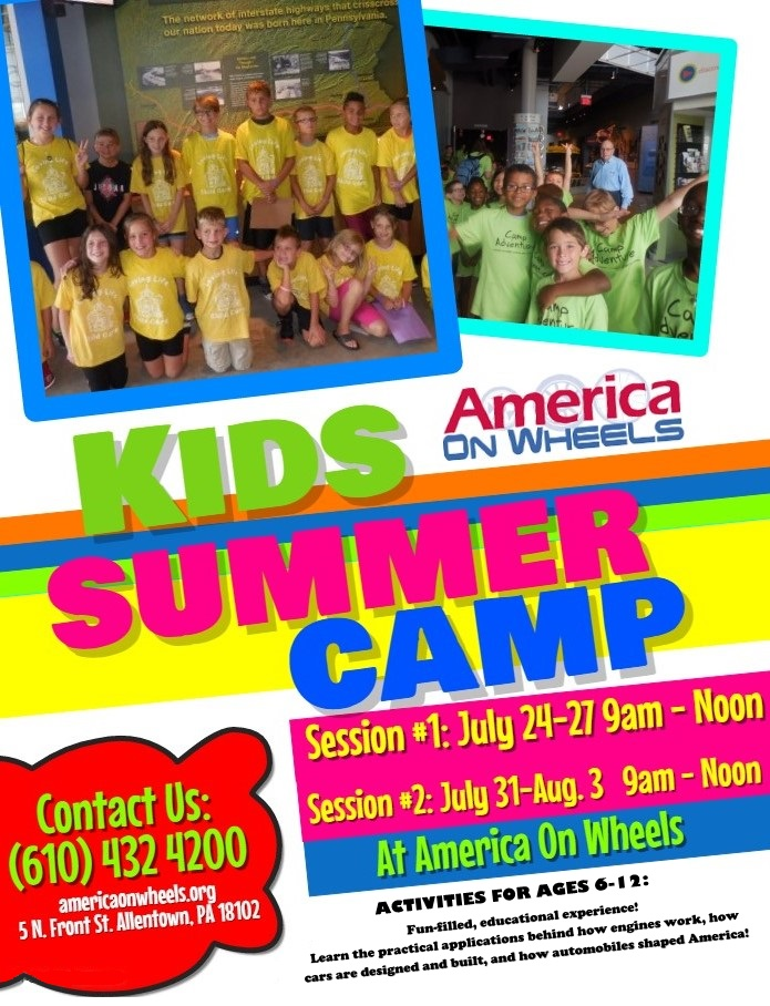 kids-summer-camp-flyer-new - Antique Auto Museum | Allentown PA ...